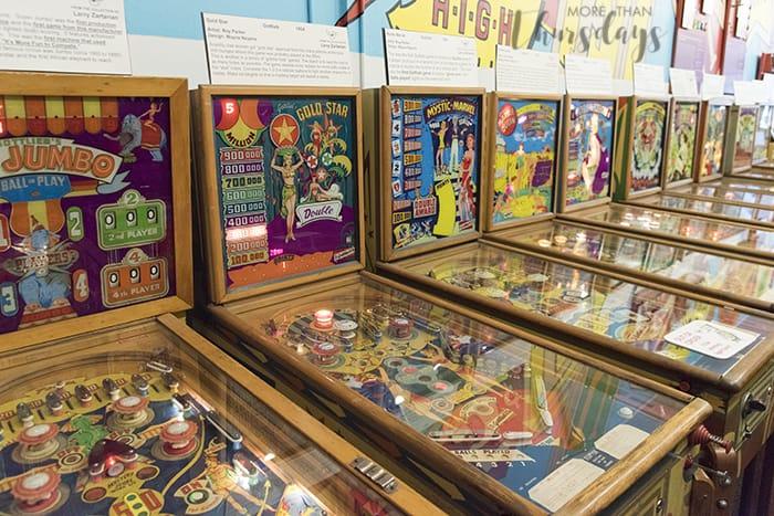 Pacific Pinball Museum - Inside