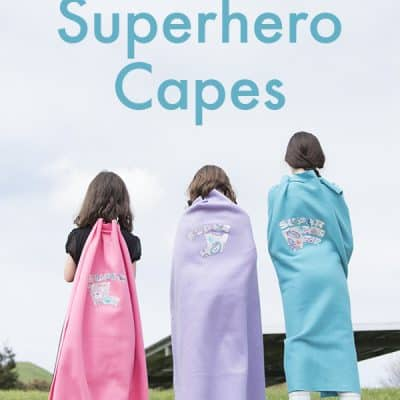 No-Sew Superhero Capes