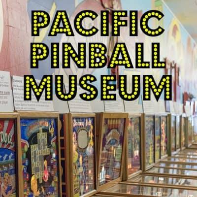 Pacific Pinball Museum in Alameda