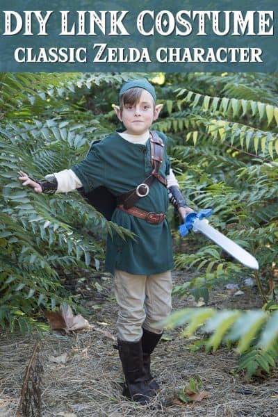 Do you have a  video game fan in your house? Learn how to make a Link costume from the classic video game Zelda and get the high score from your kids!