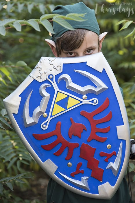 how to make a link costume for your child