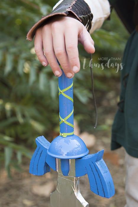 link costume sword