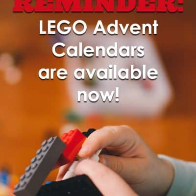 Reminder to order your LEGO Advent Calendar
