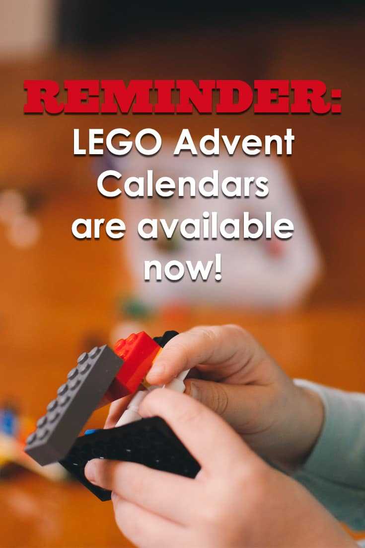 LEGO Advent calendars never fail to sell out, so order yours today!!