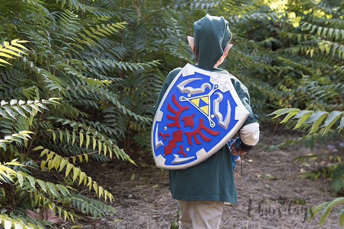 link costume shield
