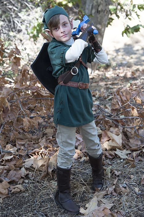 easy diy link costume from zelda