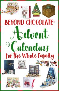 Advent calendars for the family
