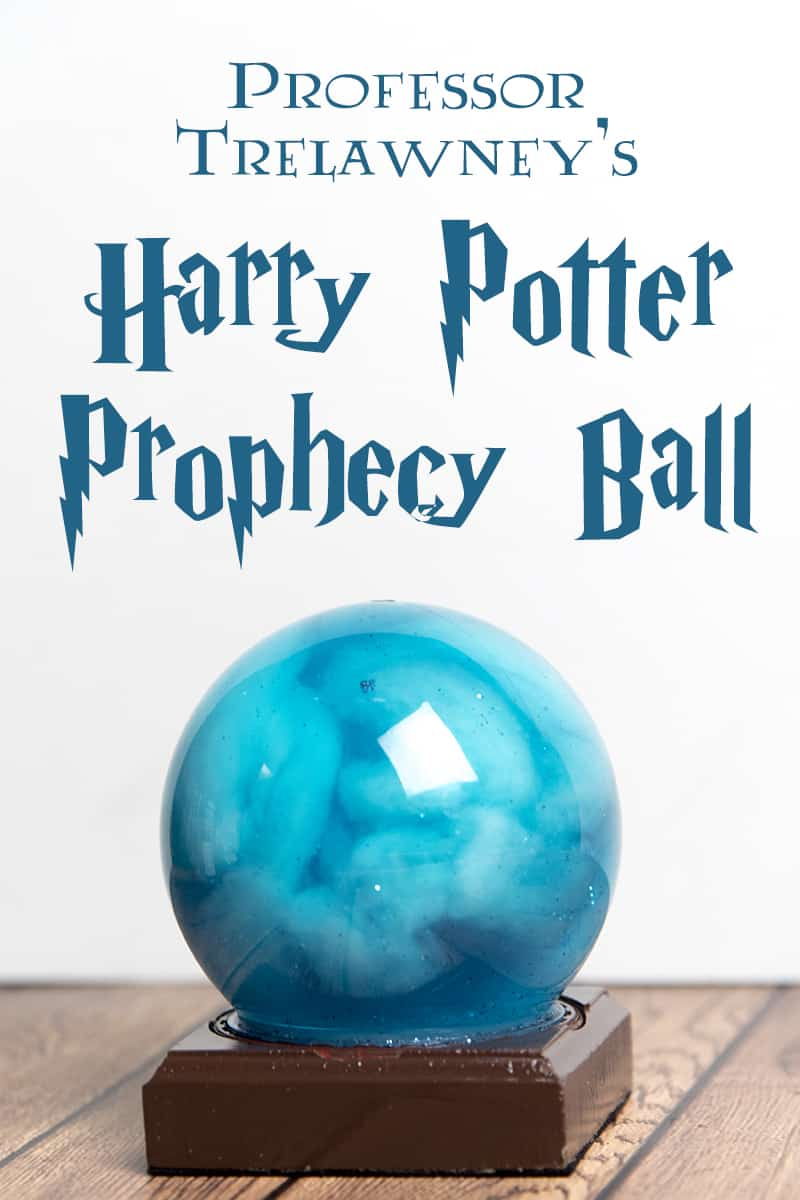 DIY Harry Potter Prophecy Ball craft