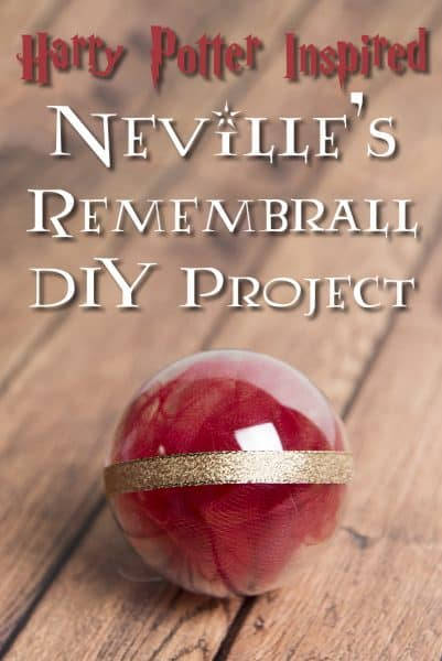 Stop forgetting things with your own DIY Harry Potter Remembrall