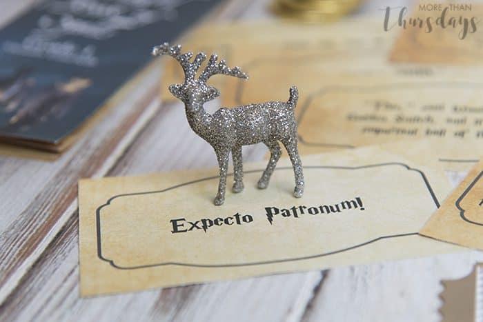Expecto patronum scavenger hunt clue