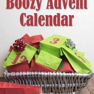 Make your own Boozy Advent calendar