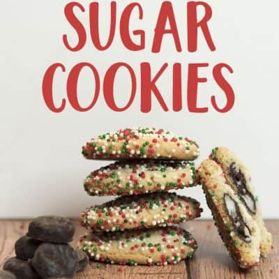 Mint Surprise Sugar Cookies