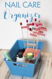 Nail Care Organizer & Display