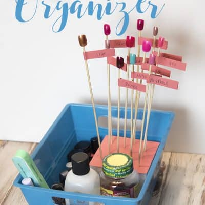 Nail Care Organizer & Display