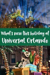 New at Universal Orlando this holiday season
