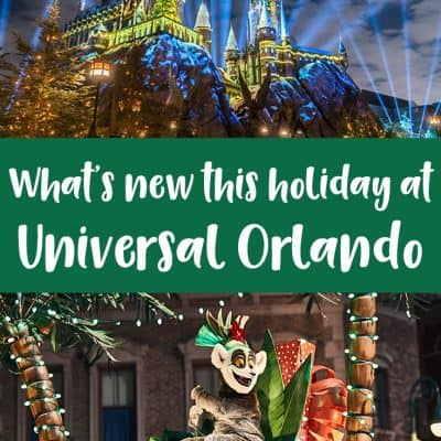 New at Universal Orlando this holiday season