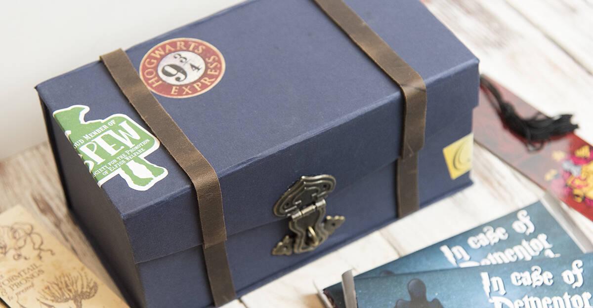 Harry Potter Trunk Cardboard