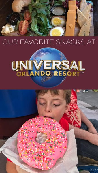 Best snack foods at Universal Studios