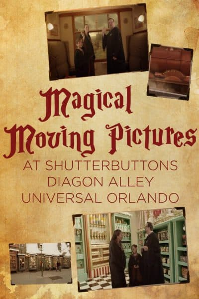 Shutterbuttons Moving Photos at Universal Studios