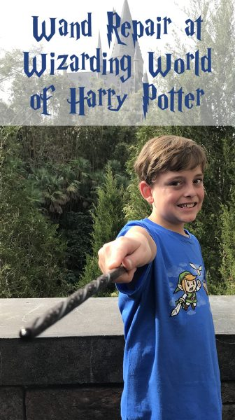 Universal Studios Harry Potter Wand repair