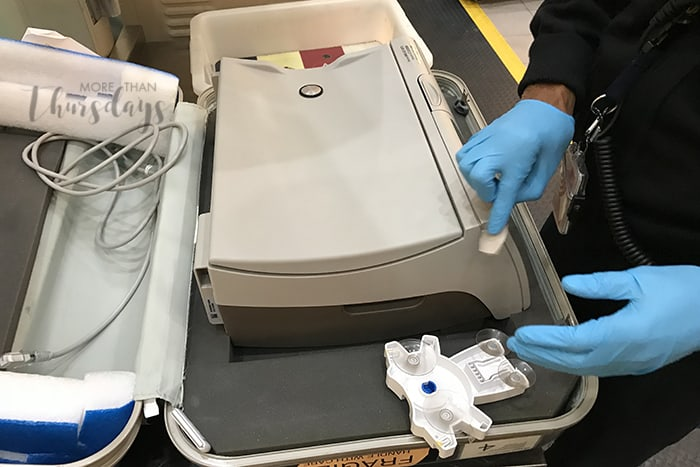 air travel on peritoneal dialysis - tsa