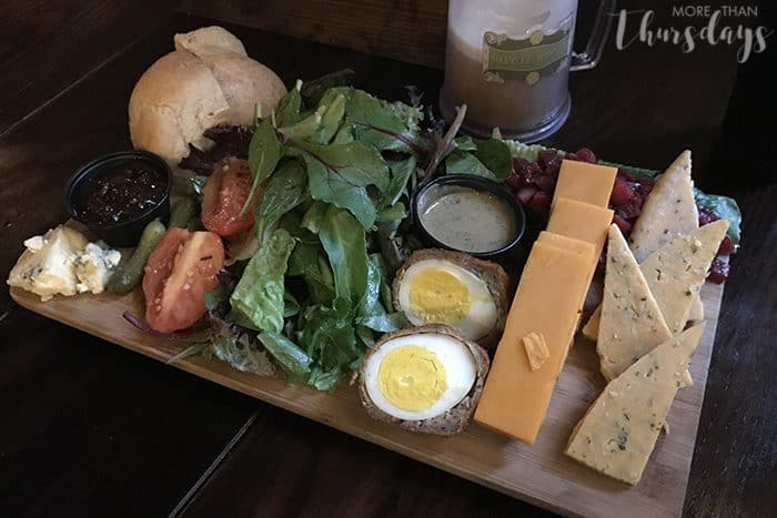Best snack foods at Universal Studios - Ploughmans Platter