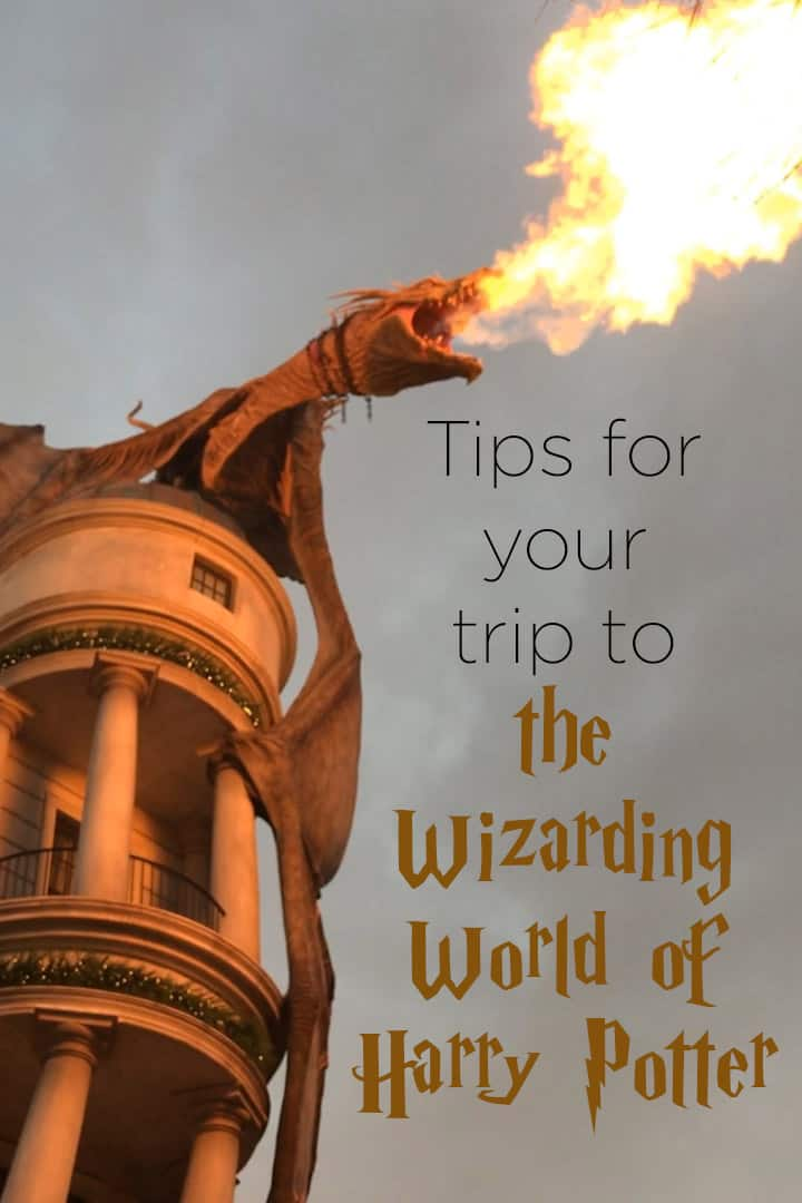 Tips and tricks for a visit to the Wizarding World of Harry Potter in Orlando, Florida. #familytravel