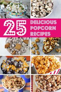 25 Delicious Popcorn Recipes