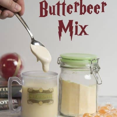 Make your own Hot Butterbeer Mix