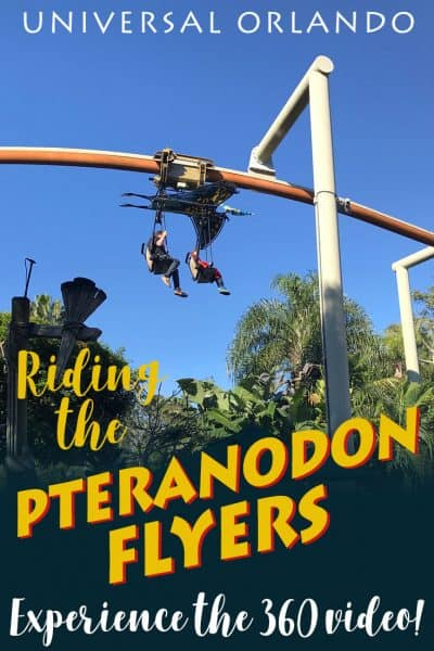 Pteranodon Flyers ride at Universal Studios Orlando