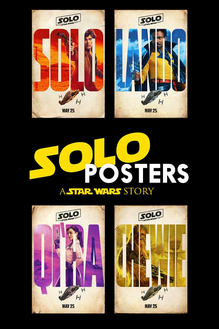Solo: A Star Wars Story character posters. Solo comes to theaters May 25, 2018! #starwars