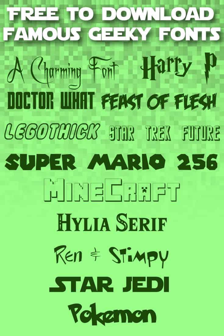 Geek Fonts Samples