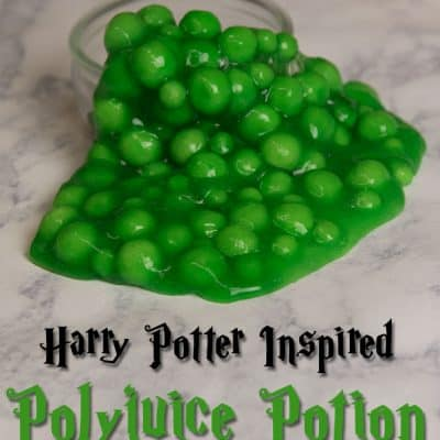 DIY Polyjuice Potion Harry Potter Slime