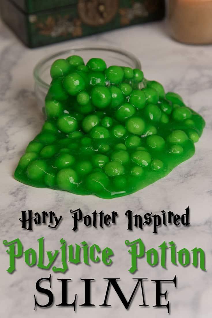 Harry Potter inspired Polyjuice Potion slime