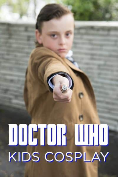 Learn who to assemble a Doctor Who cosplay outfit for kids