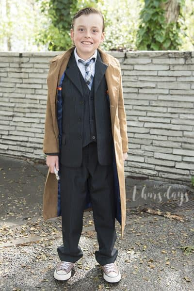 Doctor Who cosplay for kids