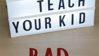 How to teach your kid bad words