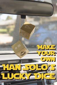 DIY Han Solo's Lucky Dice