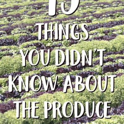 13 things you didn't know about your produce