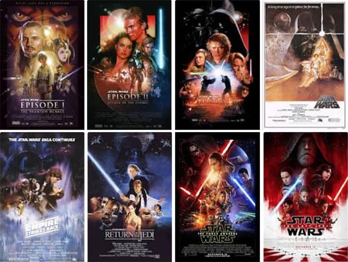All Star Wars movies - Star Wars Basics - A Primer for Parents