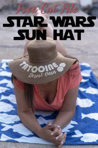 DIY Star Wars Sun Hat