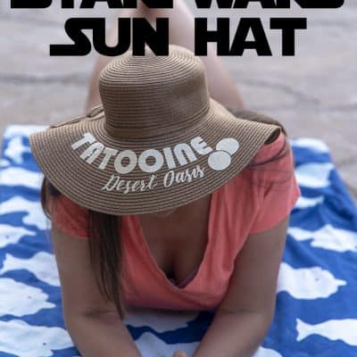 DIY Star Wars Sun Hat