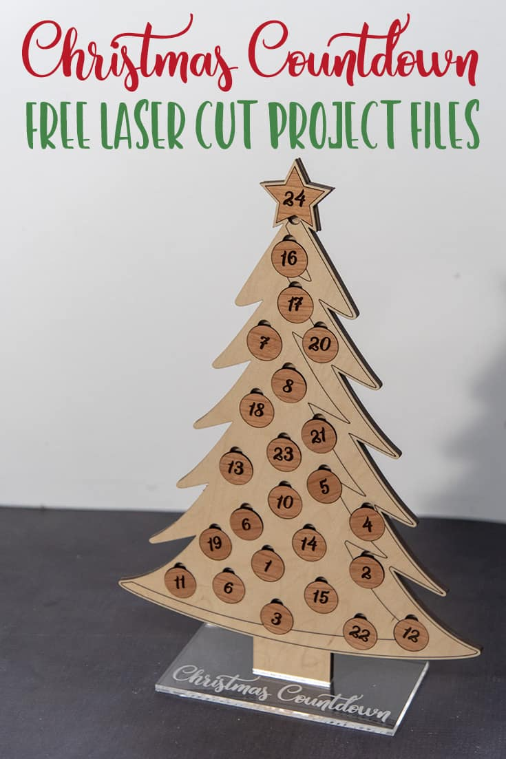 Christmas Countdown Tree Project - More Than Thursdays