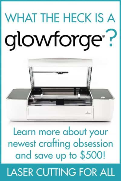 What is Glowforge? laser cutter
