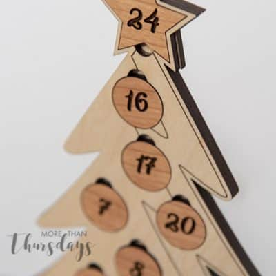 Christmas Countdown Tree Project