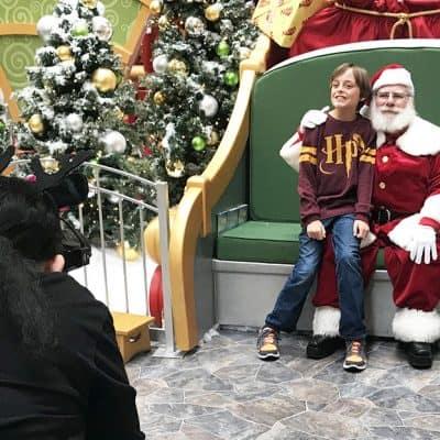 A trip to Santa HQ