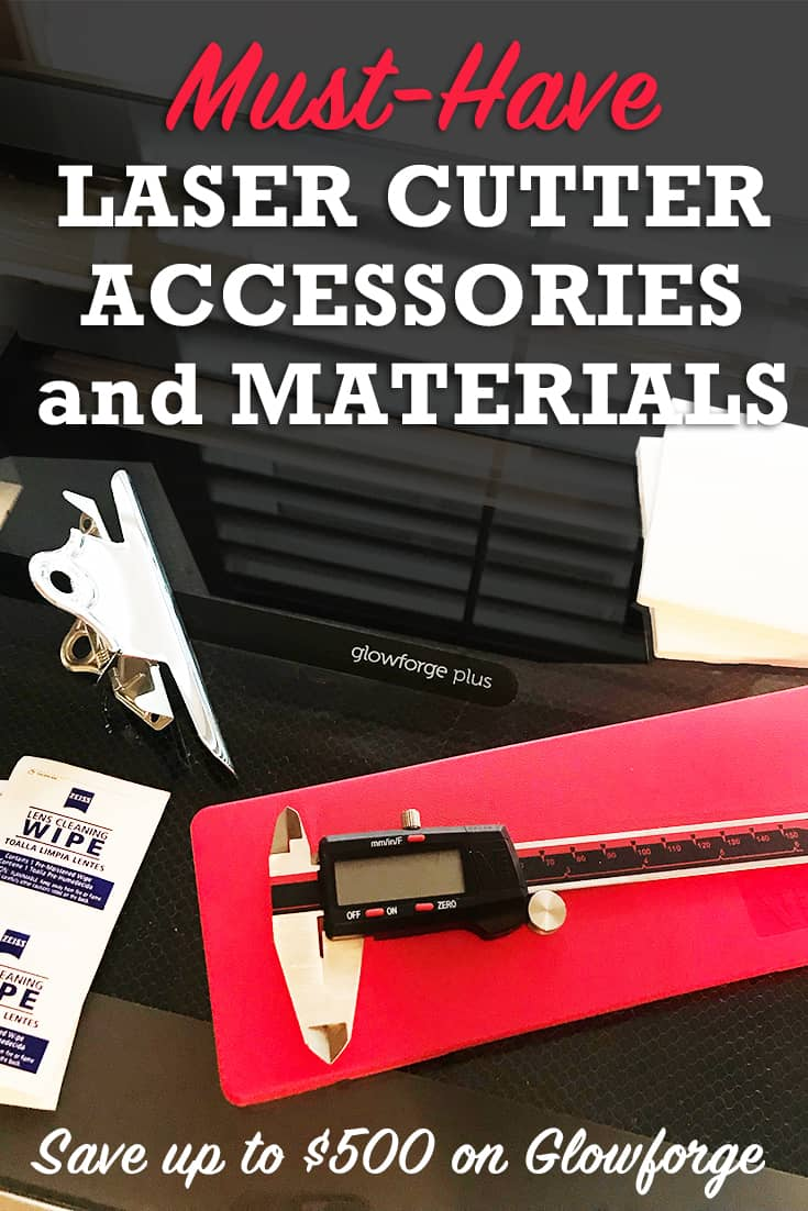 Laser Accessories and materials