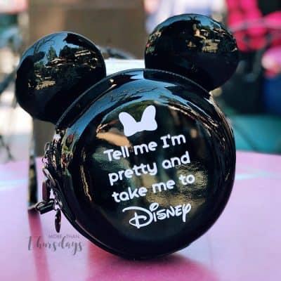 Tell me I'm pretty and take me to Disney