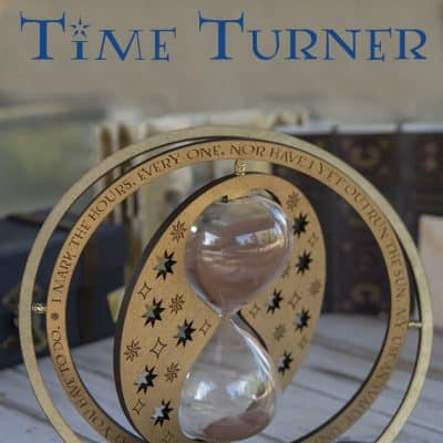 Laser-Cut Harry Potter Time Turner