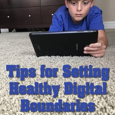 Setting healthy tech boundaries for your family